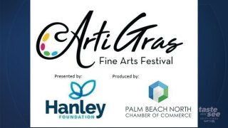 ArtiGras will be held in Palm Beach Gardens in 2021.