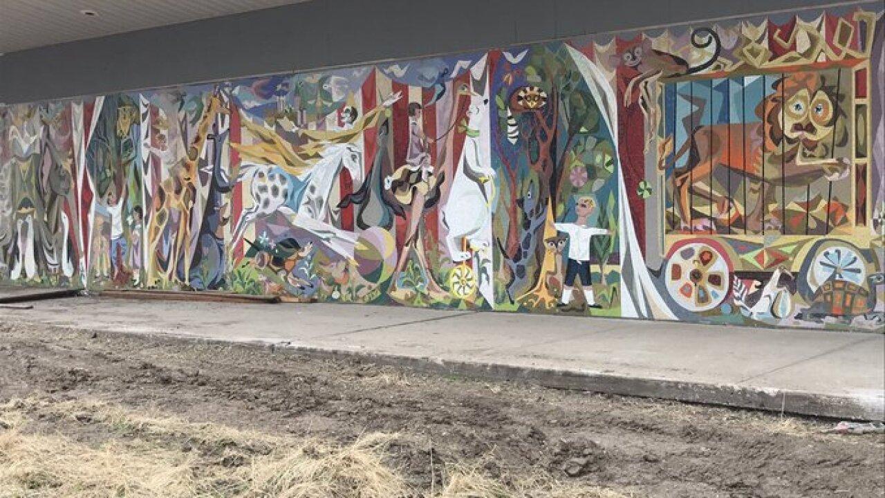 Murals Board of Education building
