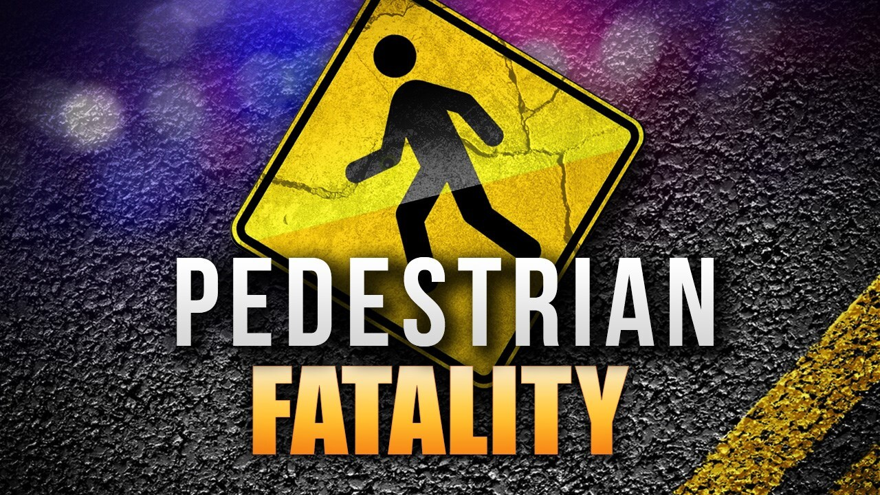 Fatal pedestrian accident on State Highway 386