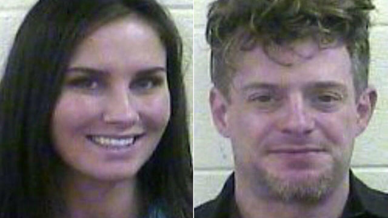 Pair arrested with drugs, stolen gun