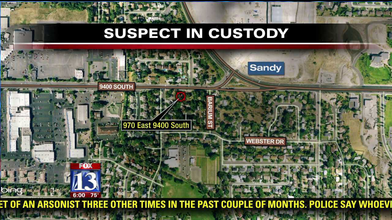 Suspect in custody after standoff at Sandy home