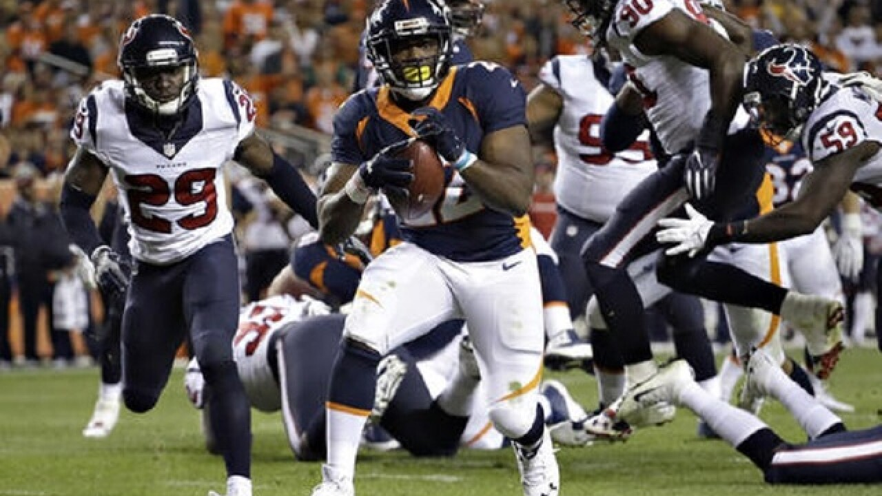 Broncos' C.J. Anderson undergoing surgery