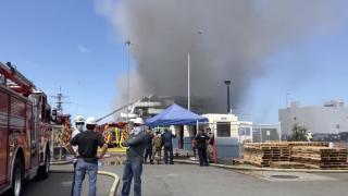 San Diego ship fire