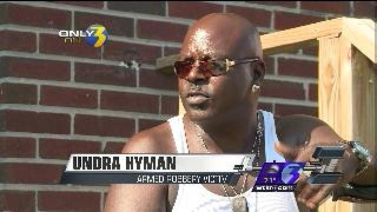 Chesapeake man says he was forced into his home and robbed at gunpoint