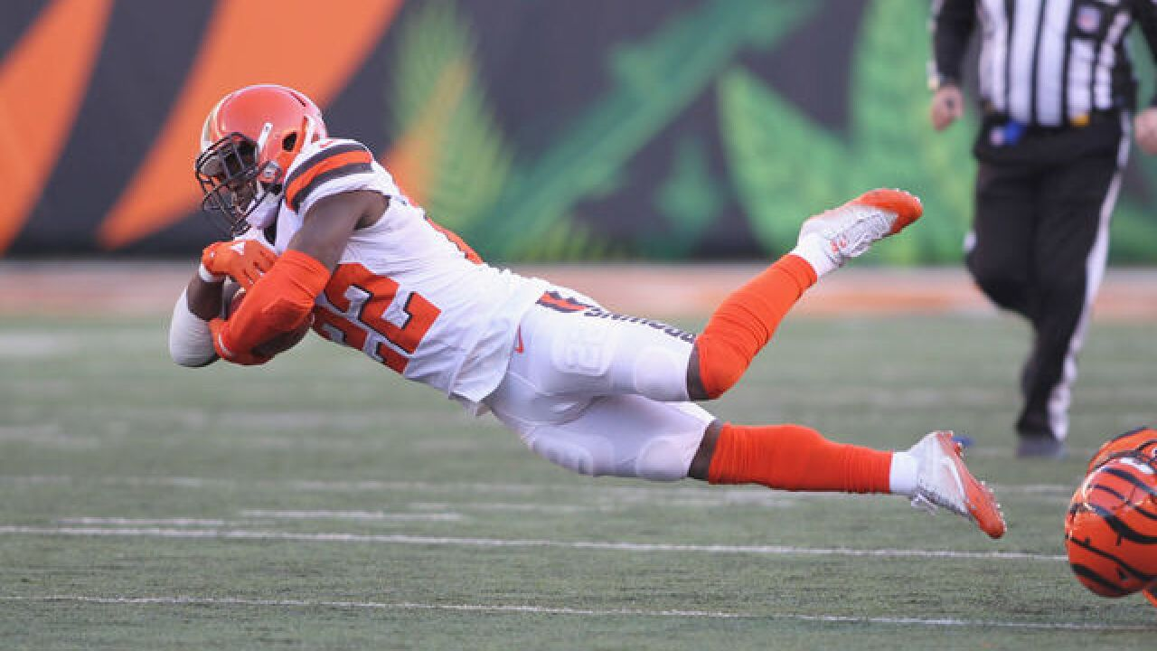 Browns rookie Jabrill Peppers responds to $24,000 fine from NFL for illegal hit