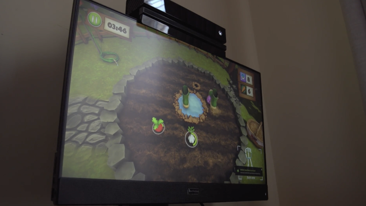 """MindMaze is a company that helped create specially-designed video games - called """"MindMotion GO"""" - to help with a patient's rehabilitation. At Johns Hopkins, they are currently using 20 such devices with their patients."""