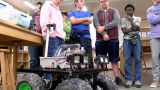 Montana Tech hosts robot rover competition that could help save miners' lives