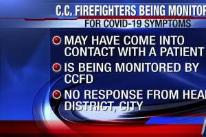 Local firefighters monitored after possible contact with COVID-19 patient