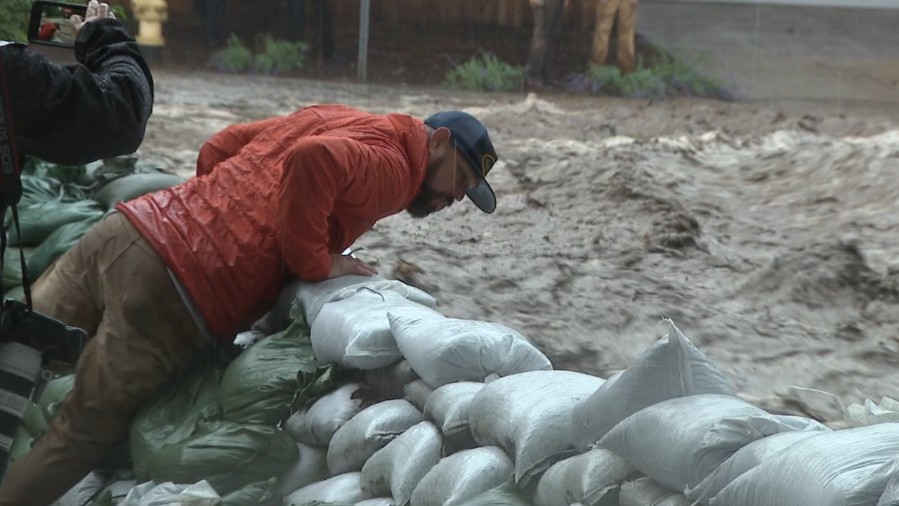 Severe flash flooding in Flagstaff