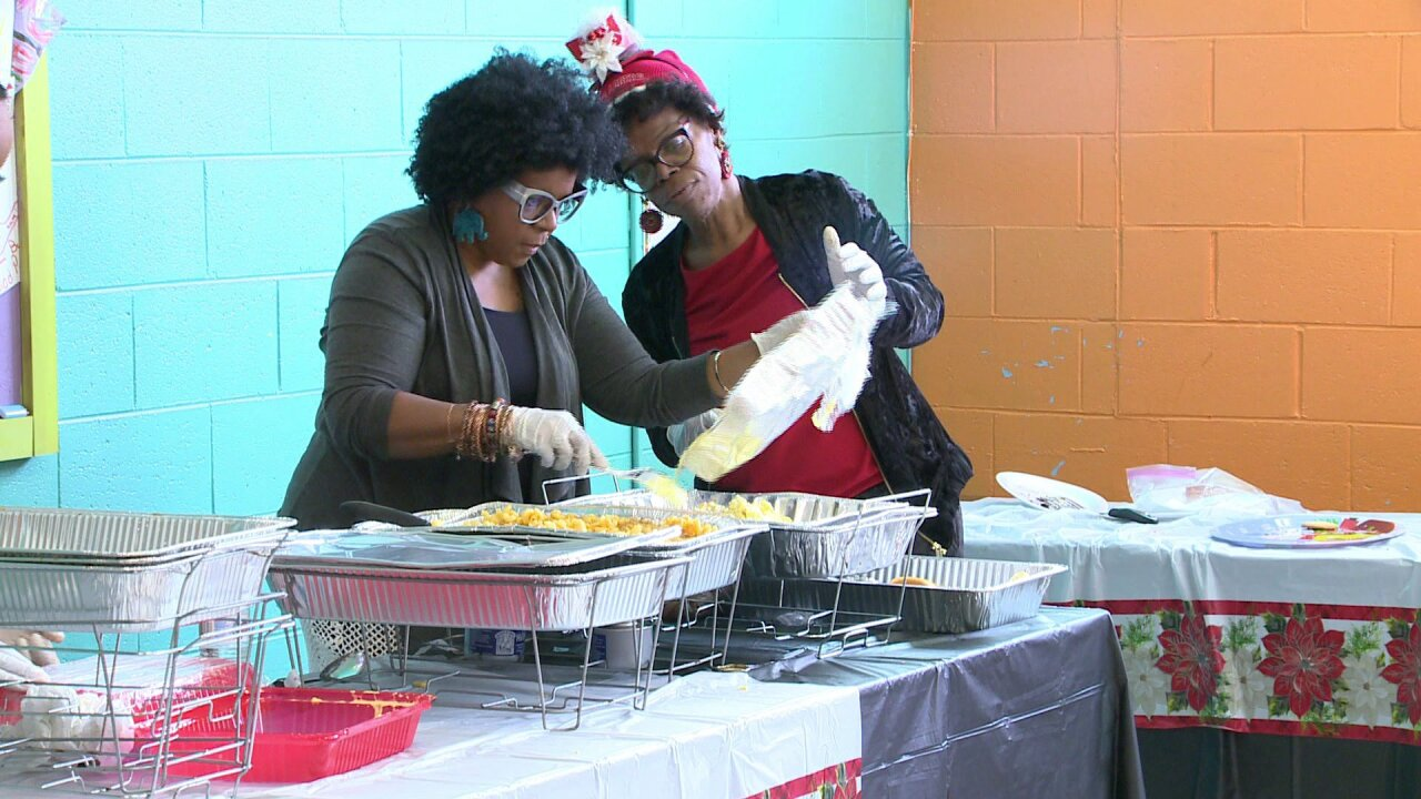 Local group hosts annual 'Christmas Feeding' for people in need