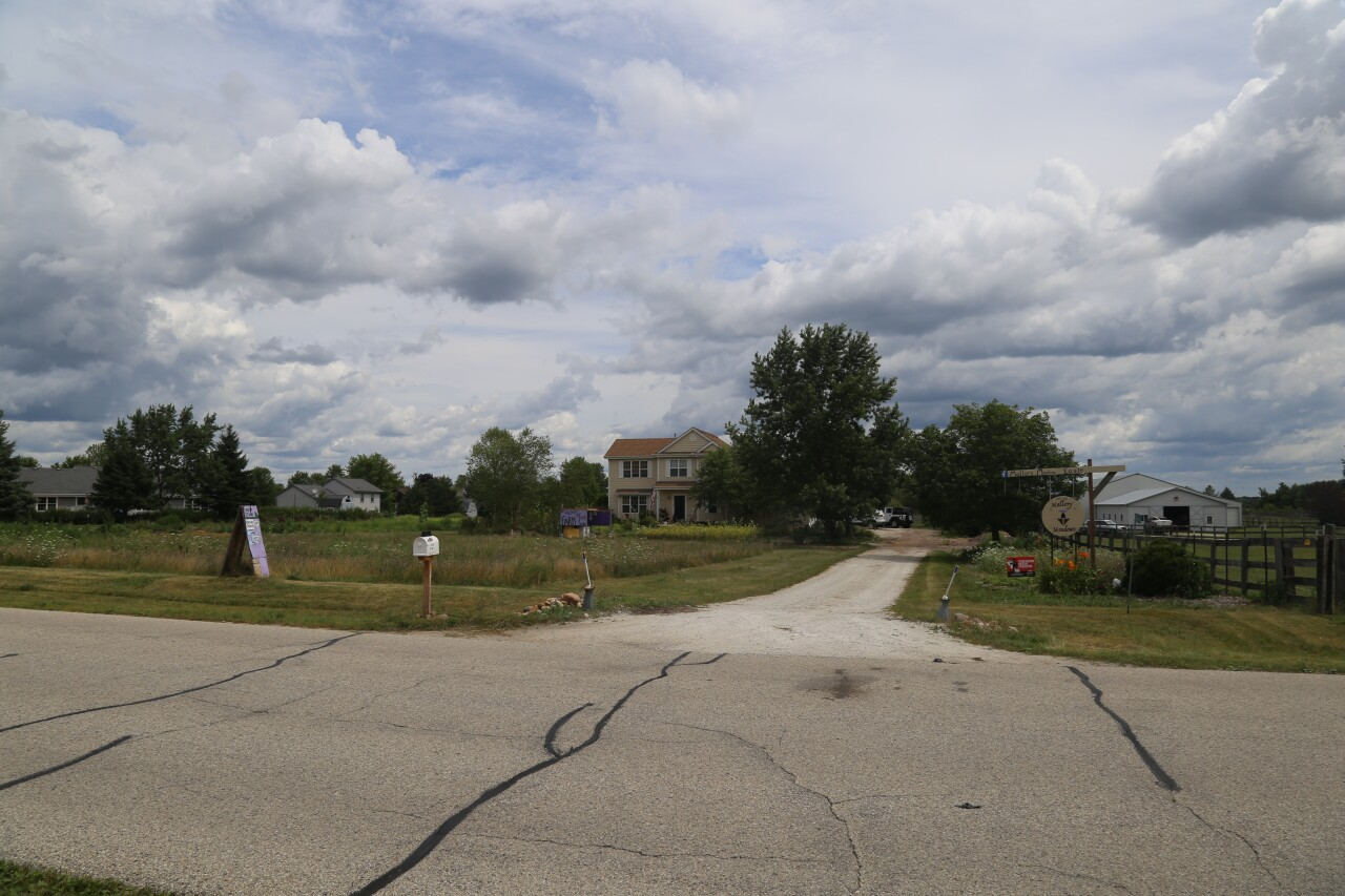 Erica Mallory's house and neighborhood in Eagle, Wisconsin.