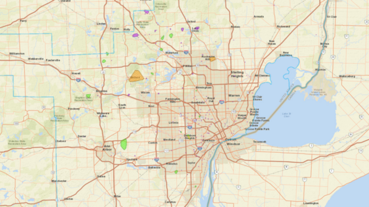 More than 4K without power across metro Detroit