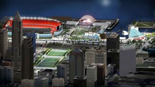 2021 NFL Draft rendering Cleveland