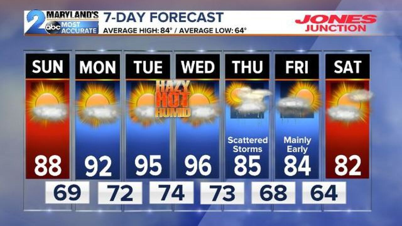 THE HEAT RETURNS-Summer Not Done Yet