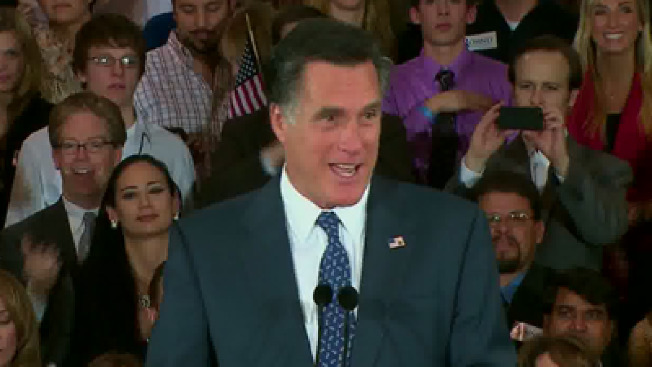 Mitt Romney projected to win Wyoming caucuses
