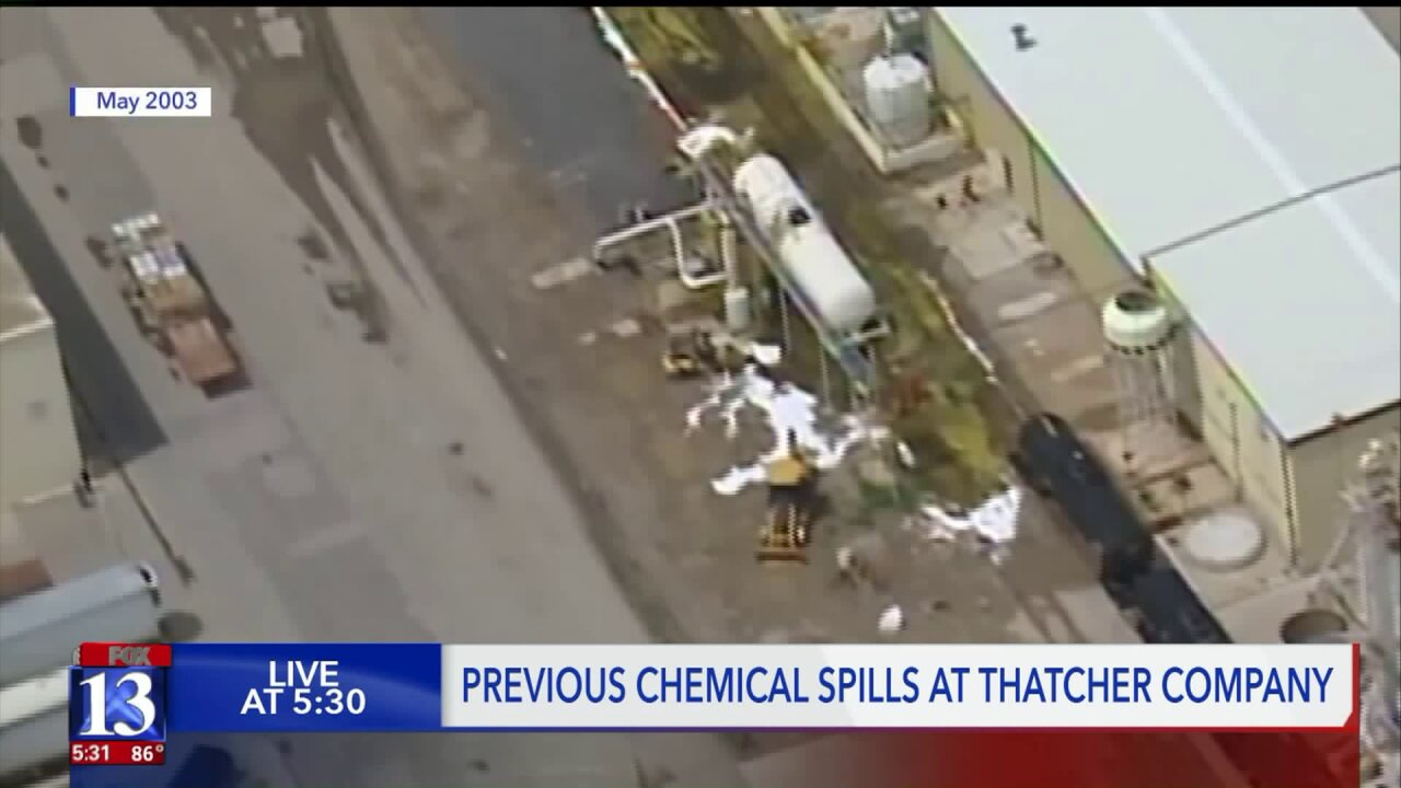 Thatcher Company's chemical leak is latest in series of incidents involving facility