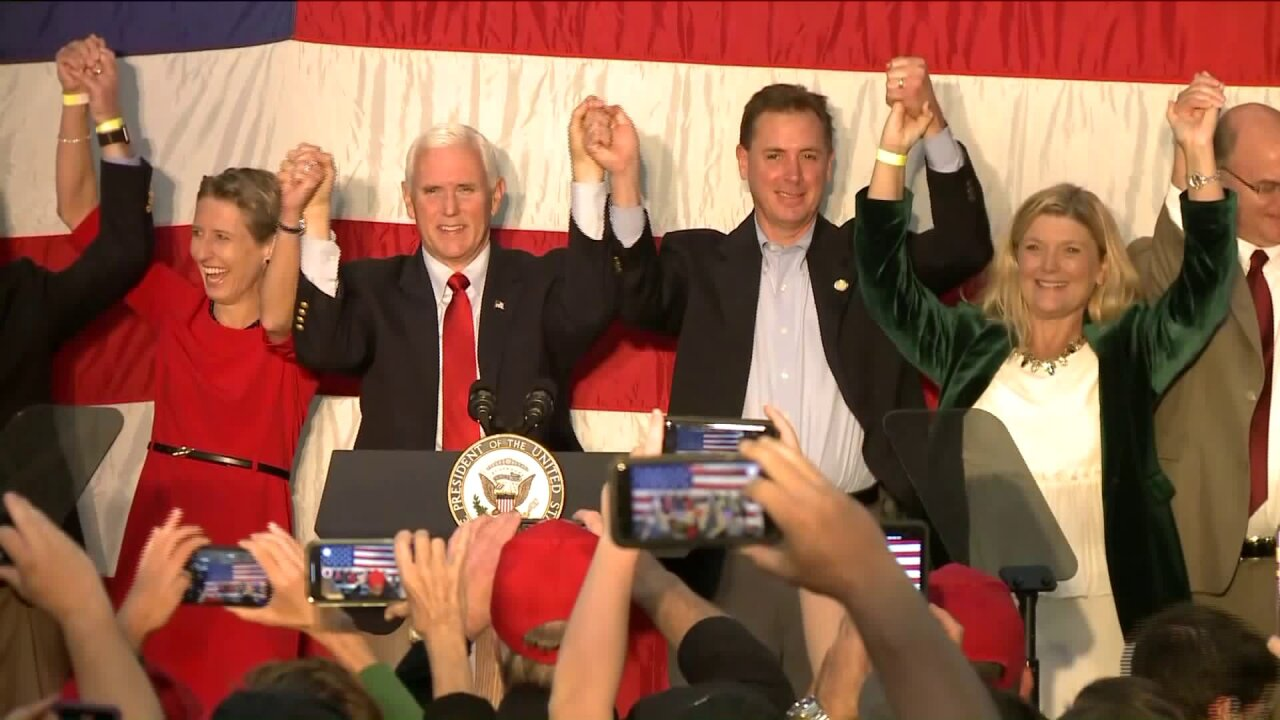 Vice President Pence rallies Republicans in Virginia Beach ahead of ElectionDay