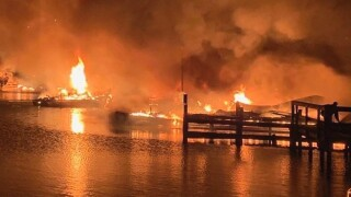 Fatalities confirmed in massive fire on Alabama dock