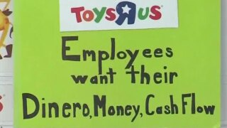 Toys 'R' Us workers protest no severance pay as Florida stores set to close this week