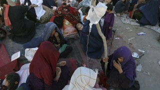 Fleeing Afghanistan refugees