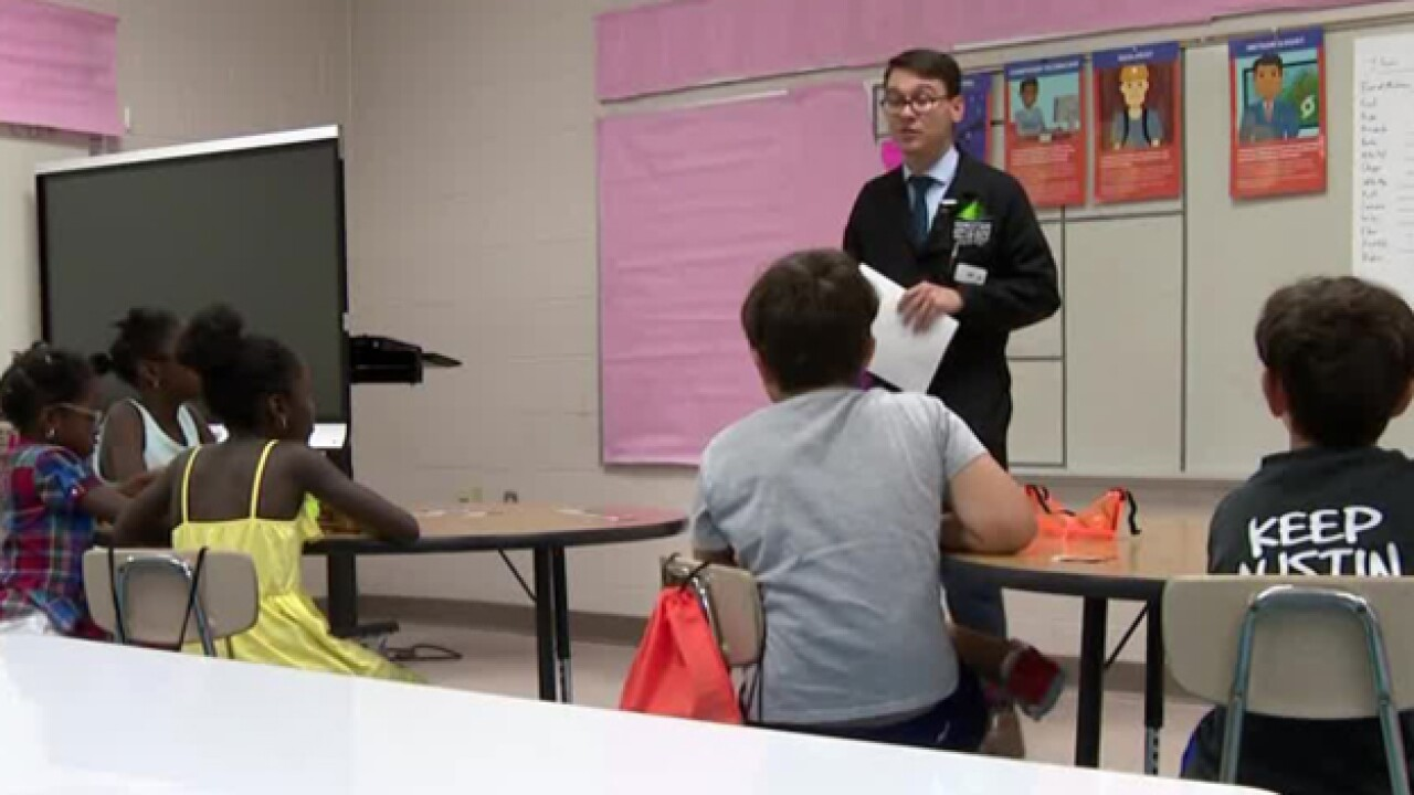 School Patrol: Science In The Summer Camp