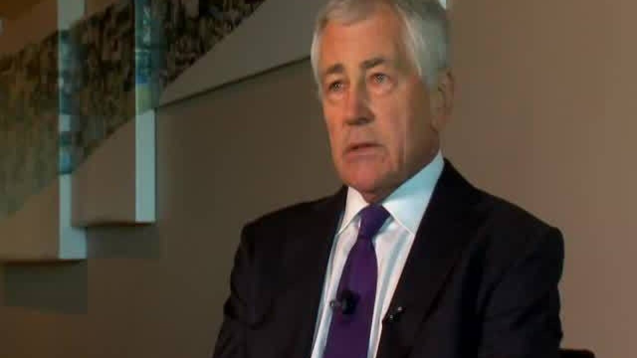INTERVIEW: Chuck Hagel on national security