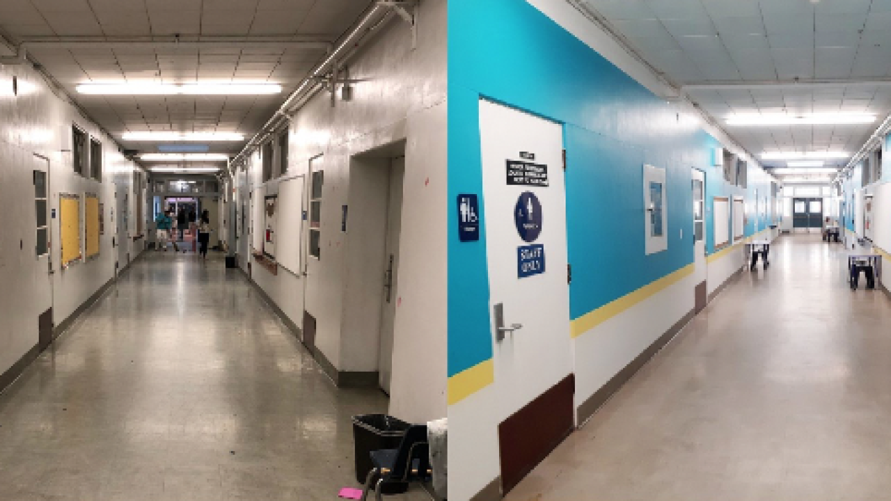 Bay Park Elementary gets colorful makeover