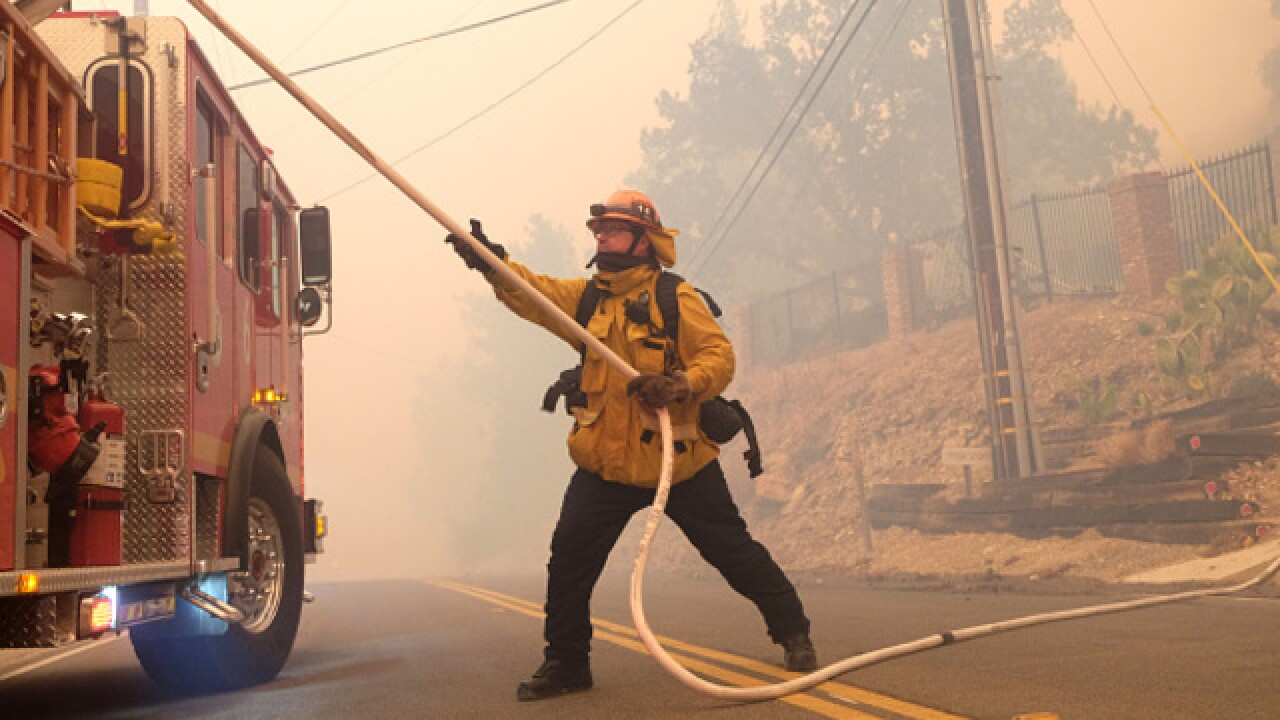 Woolsey Fire a challenge due to Santa Ana winds