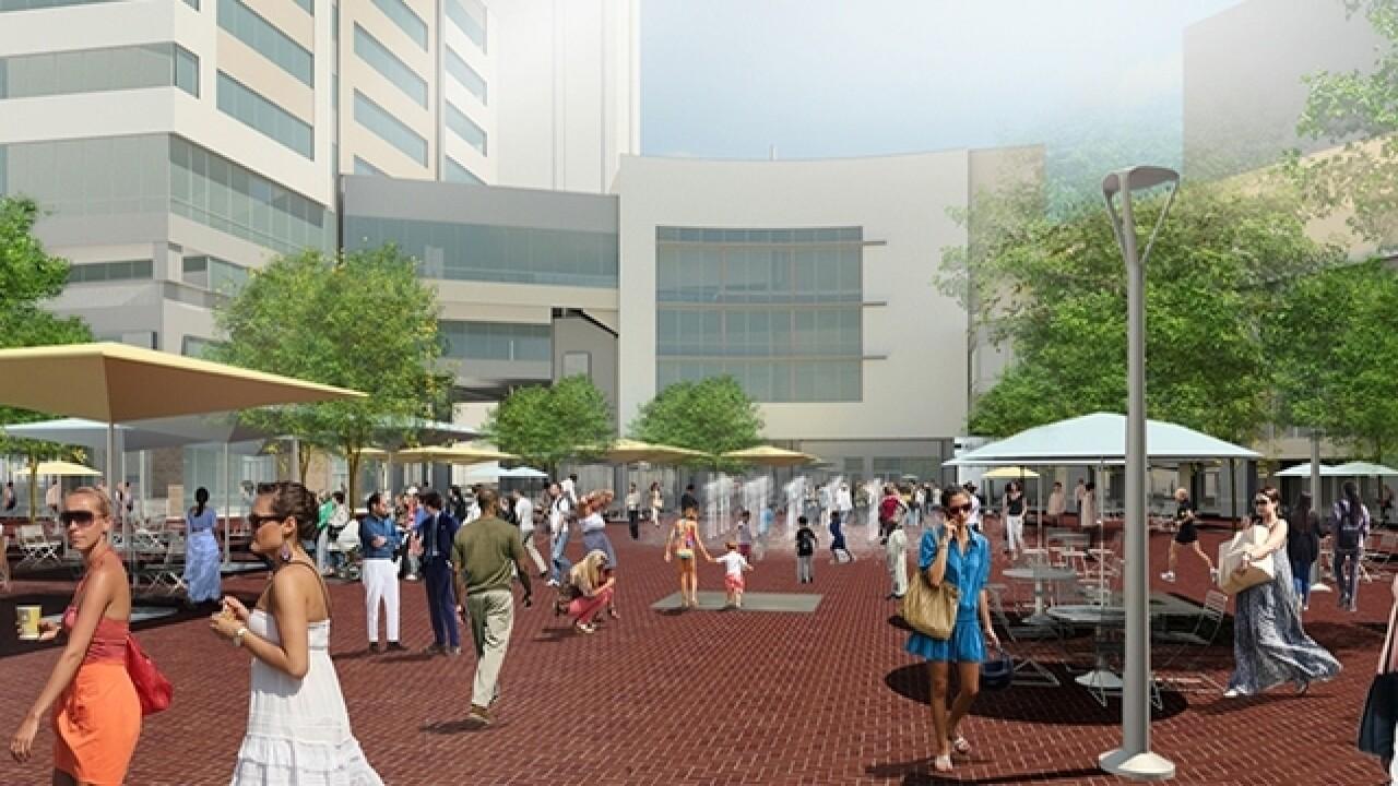 Grove Plaza renovation now underway