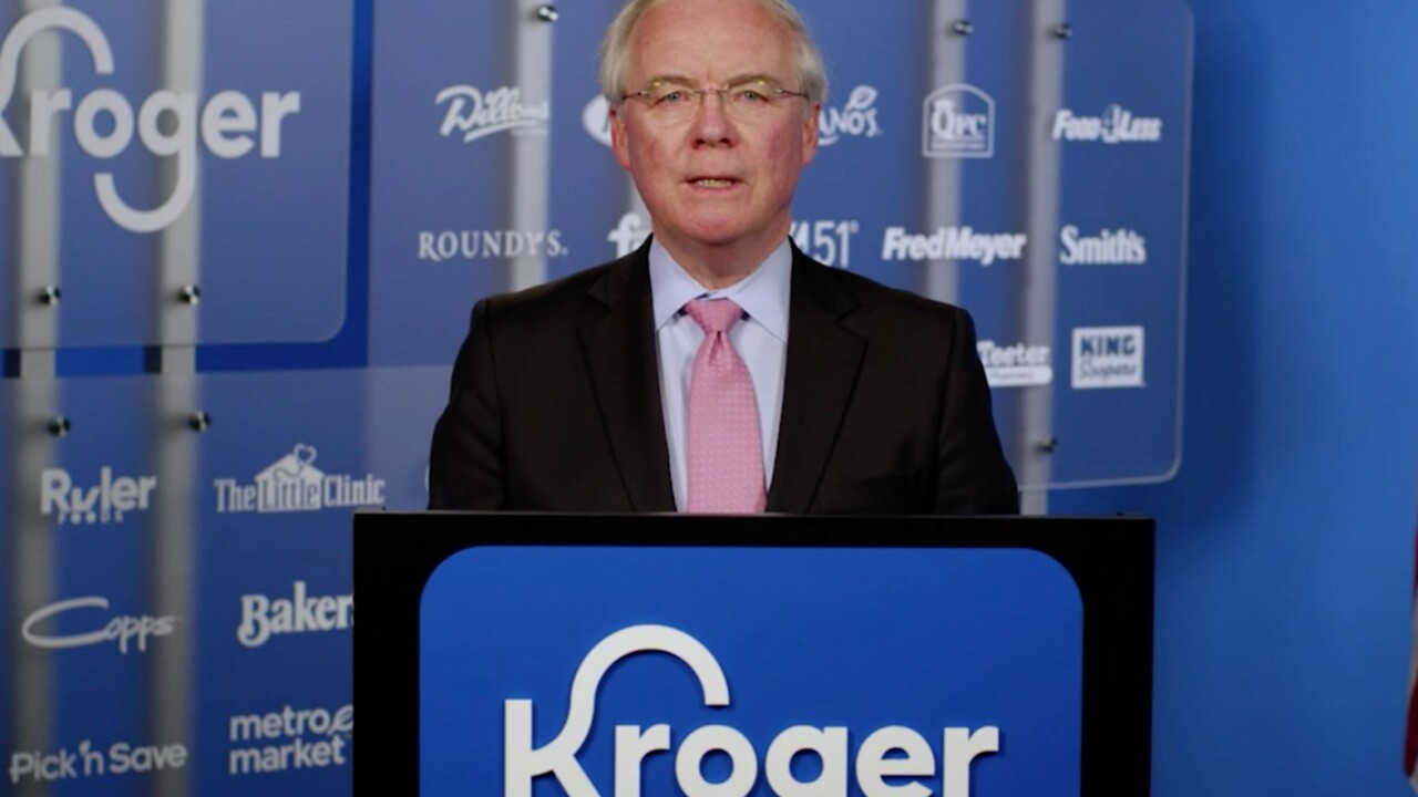Kroger CEO: No more hazard pay for grocery workers