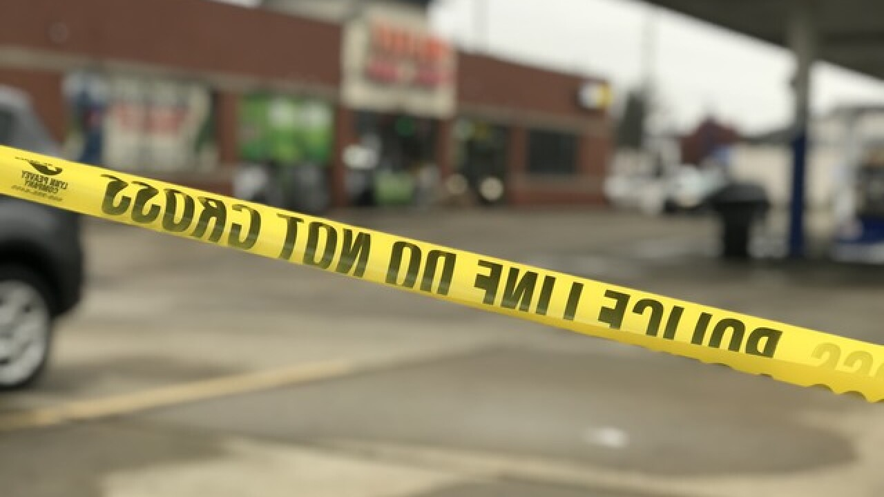 Woman hospitalized after dispute at gas station