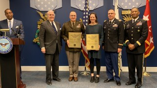 PPLT and Montana Army National Guard's partnership recognized in D.C.