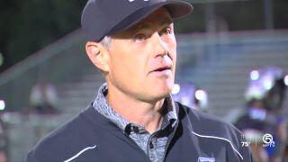 Brian Dodds, retiring as head football coach at Park Vista Community High School