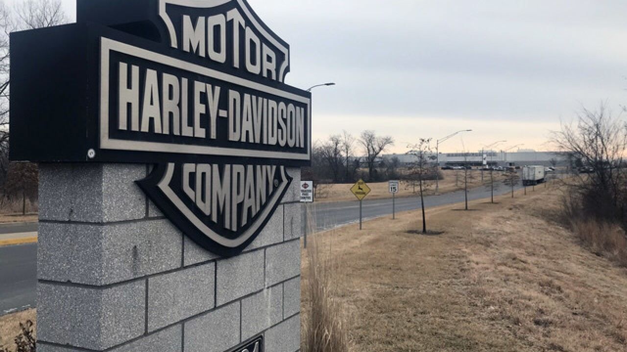 MO legislators ask Harley-Davidson to keep Kansas City plant open