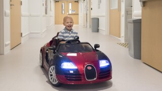 Cleveland Clinic electric cars for kids