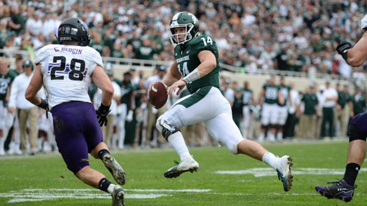 Shaky offensive line a big part of Spartans' struggles