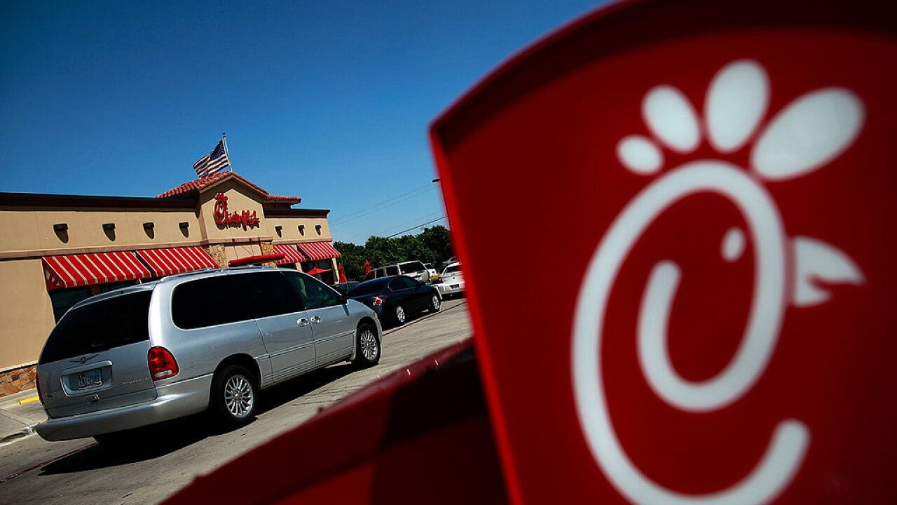 A Chick-fil-A in Virginia offering free food in exchange for coins amid shortage