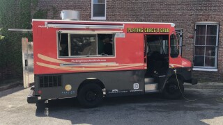 Plating Grace and Grub truck.JPG