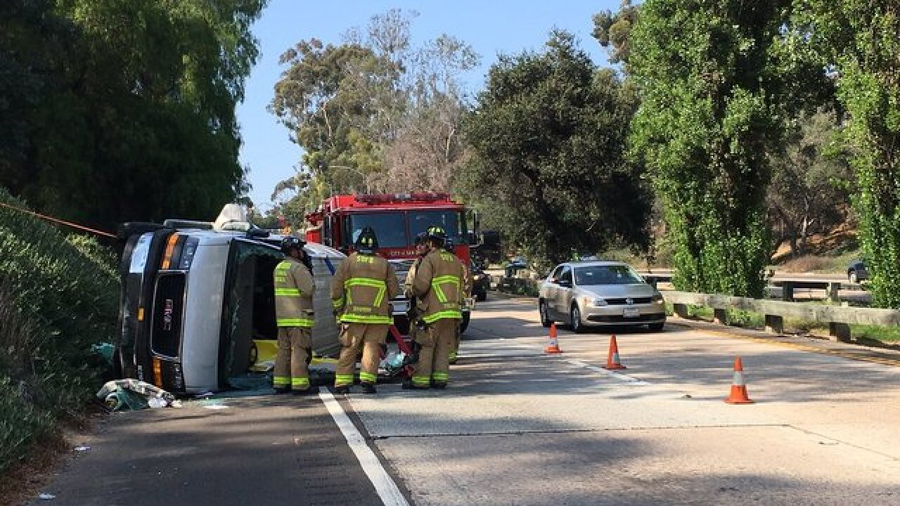 Man killed in U-Haul van crash on SR-163