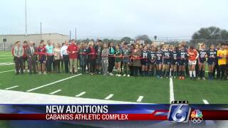 New athletic facilities at Cabaniss Field