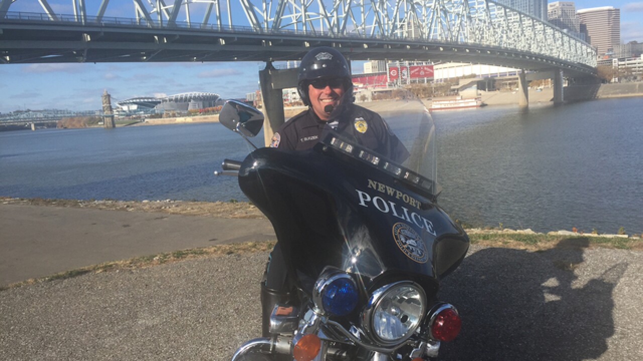 Newport adds maneuverability -- and more traffic tickets -- with its new motorcycle patrol