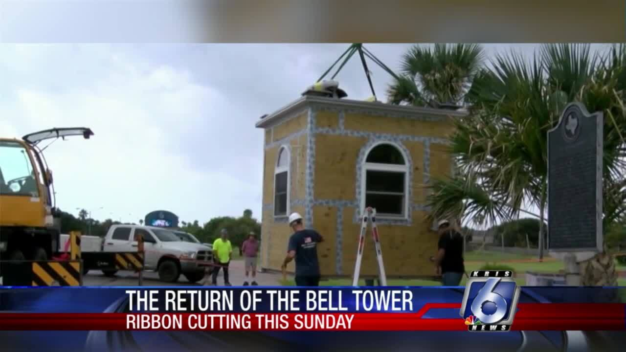 Ribbon-cutting ceremony for First Baptist Church bell tower set for Sunday