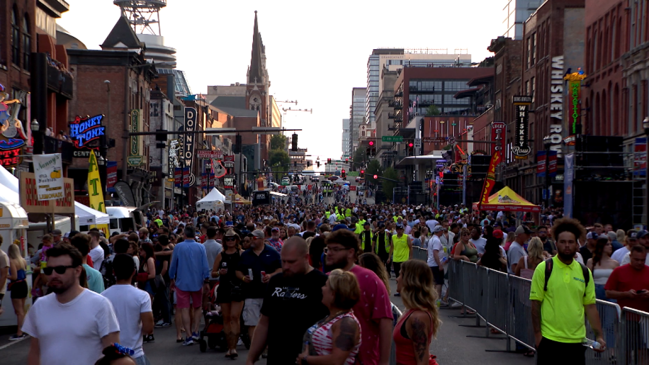 Nashville sees record attendance at this year's Fourth of July celebration