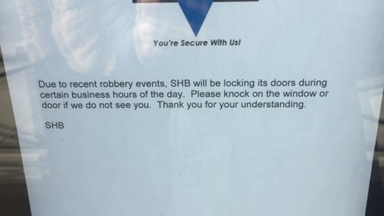 Malmo, Colon residents react to bank robberies