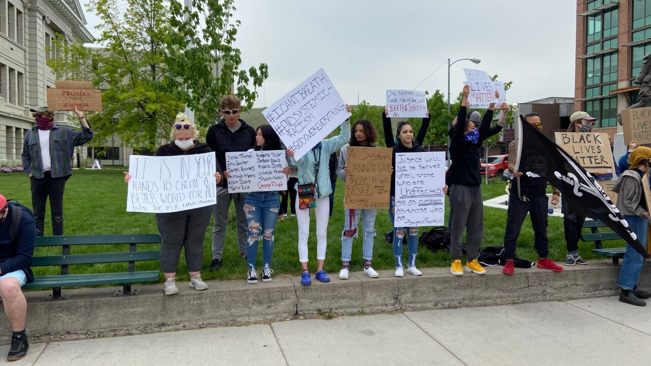 Protest over death of George Floyd resumes in Missoula