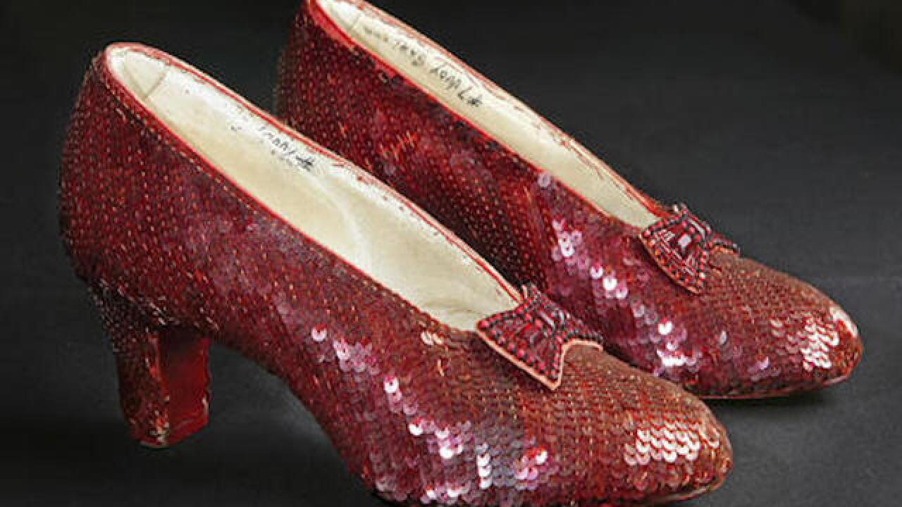You can help save Dorothy's ruby slippers