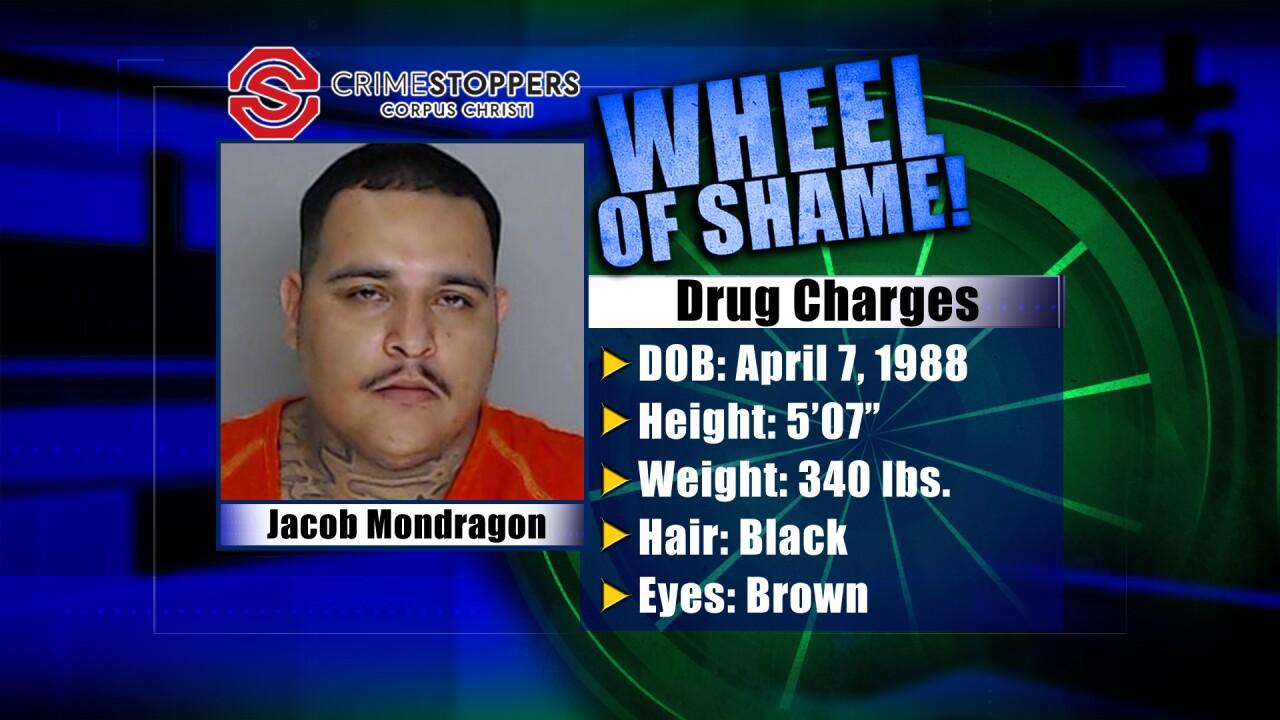 Wheel of Shame Fugitive: Jacob Mondragon