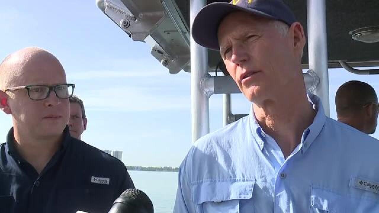 Governor Rick Scott to tour Caloosahatchee