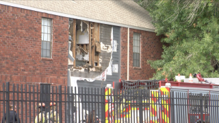 Neighbor, fire department official react to apartment explosion