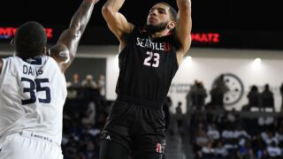 Seattle University graduate transfer Terrell Brown has committed to Arizona, bolstering the Wildcats' backcourt for next season. Photo courtesy of Seattle University.